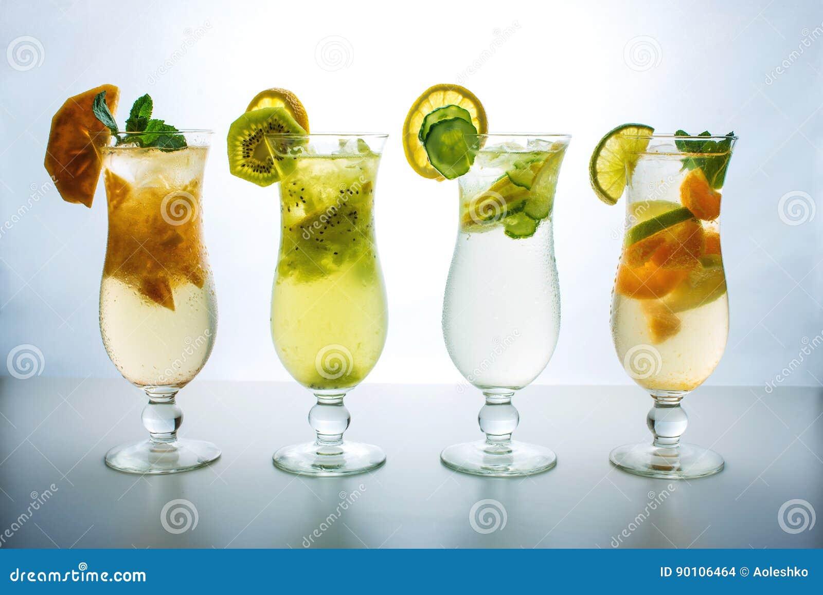Brown Glass Fruit Set