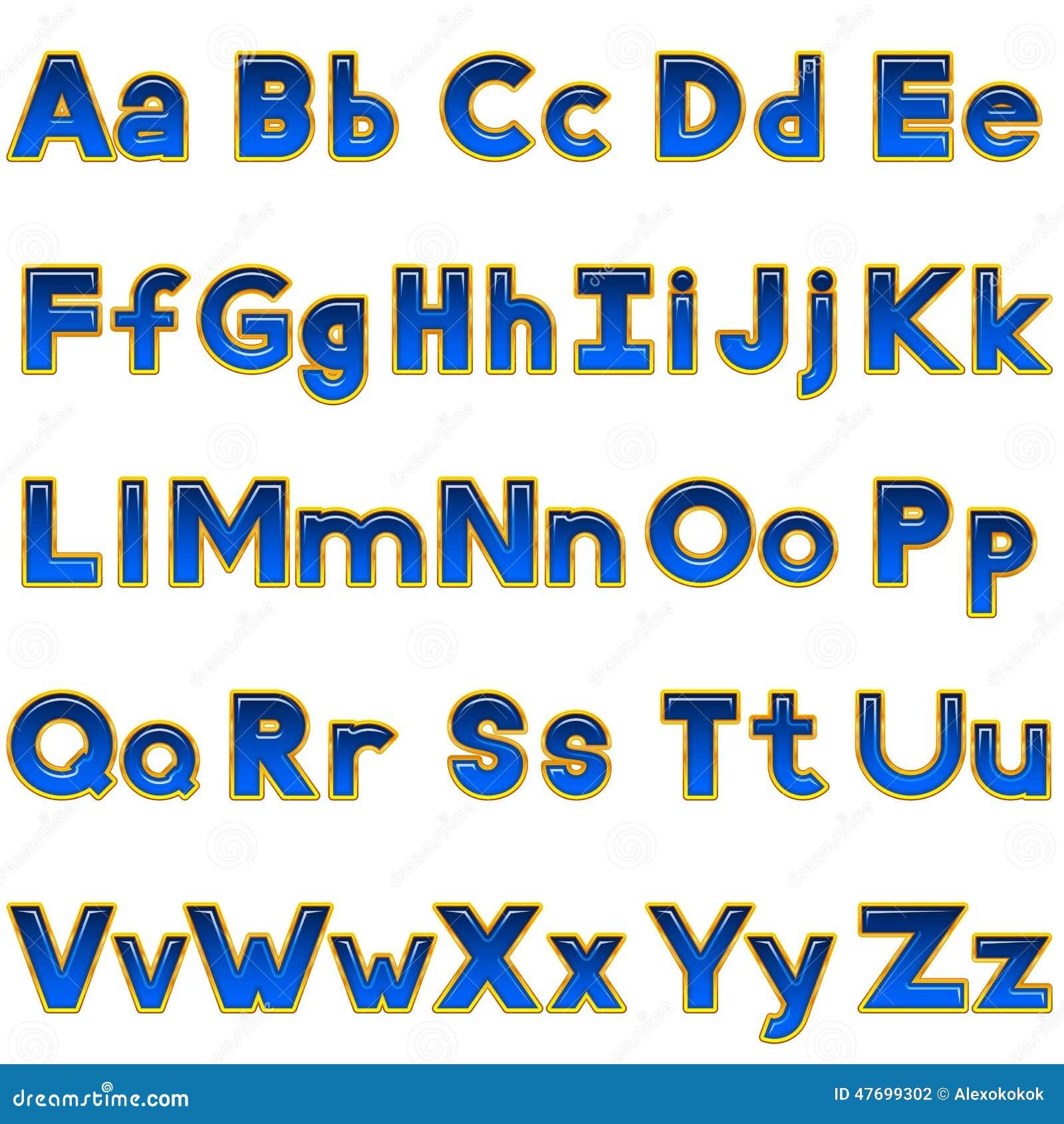 Alphabet Letters Upper Case Lower Case