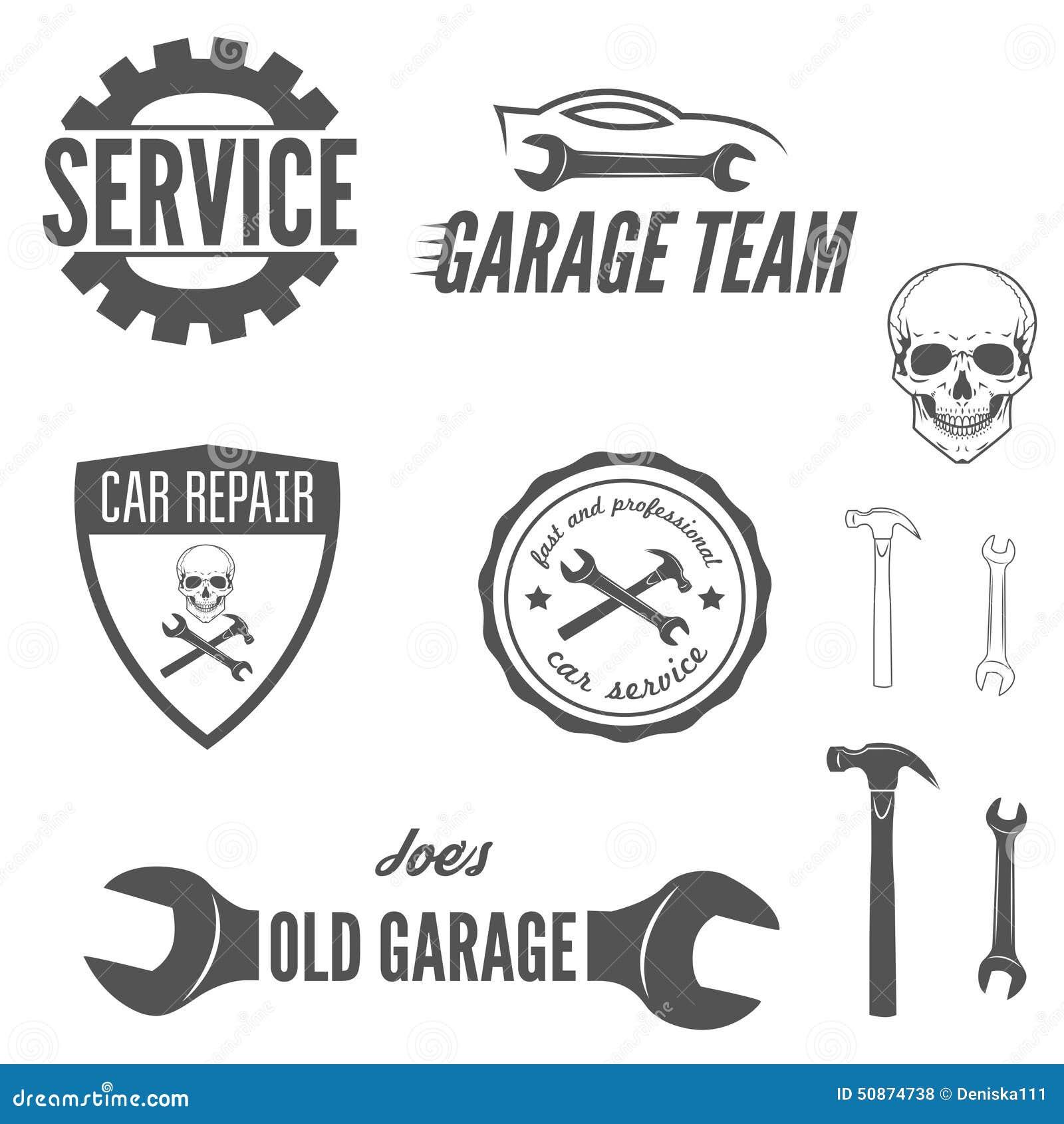 Set loga, odznaki, emblemata i logotypu element,