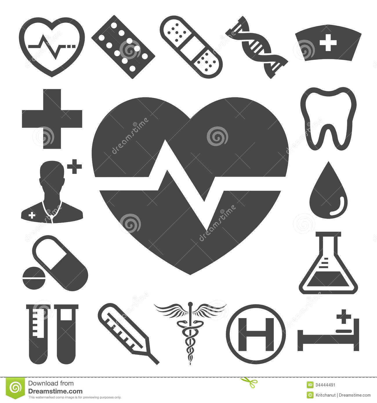 Set Of Medical Amp Health Care Icons Stock Image Image
