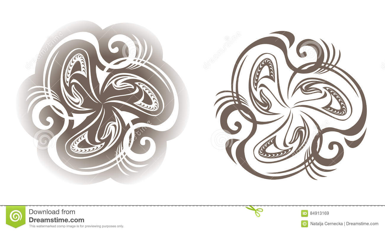 Set of medieval ornaments stock vector illustration of invitation download comp stopboris