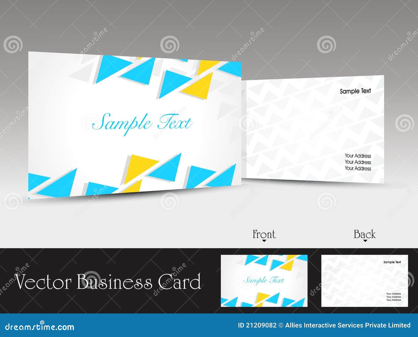 set of modern design vector business card template stock vector image 21209082. Black Bedroom Furniture Sets. Home Design Ideas