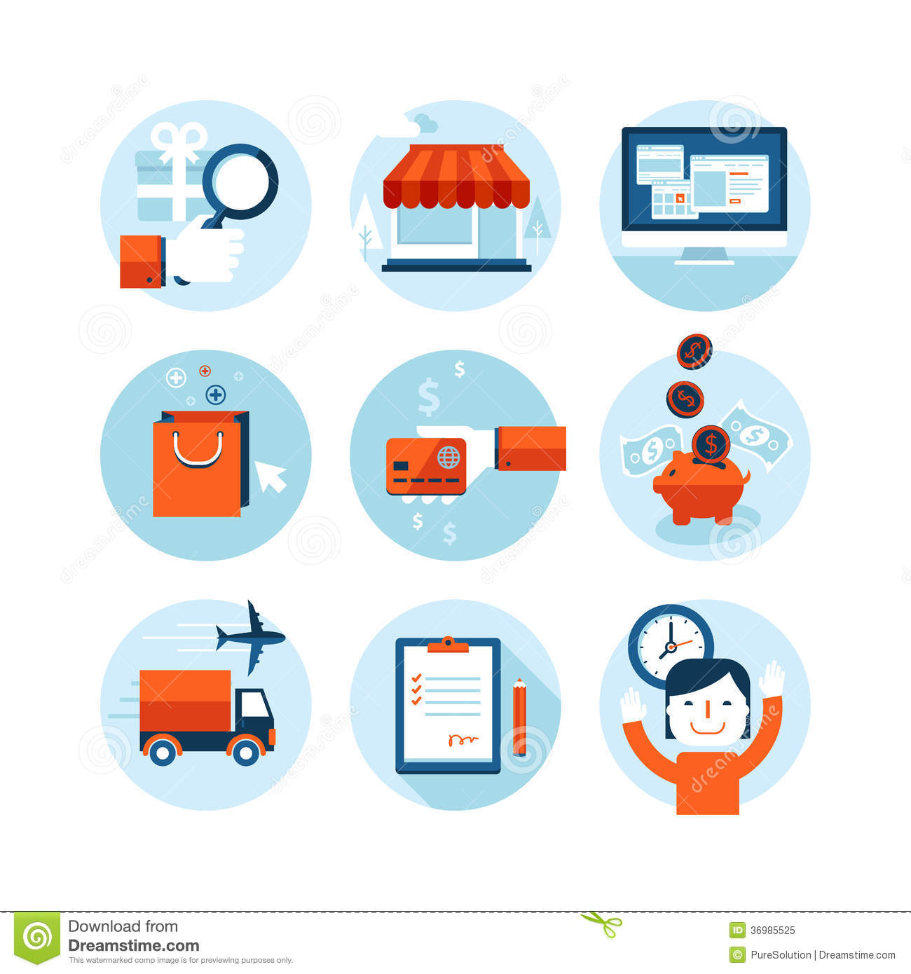 E services online shopping and web sites