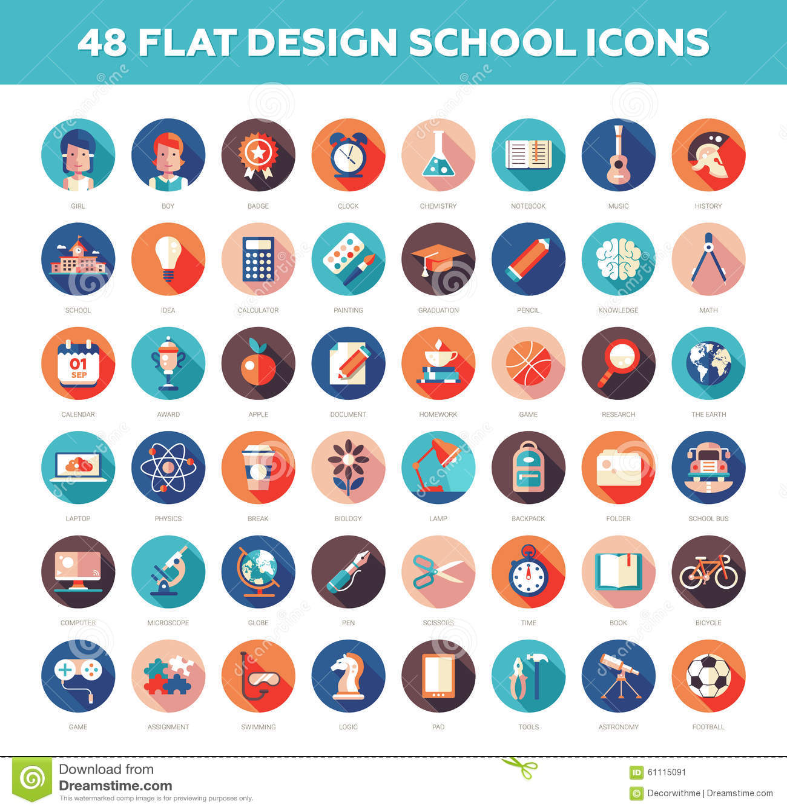Free infographic icons illustrator