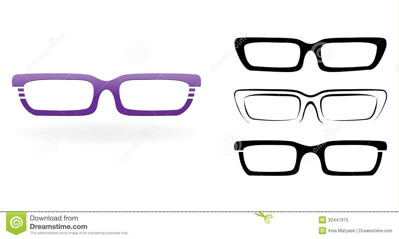 Glasses Frames Vector : Set Of Modern Glasses Royalty Free Stock Photo - Image ...