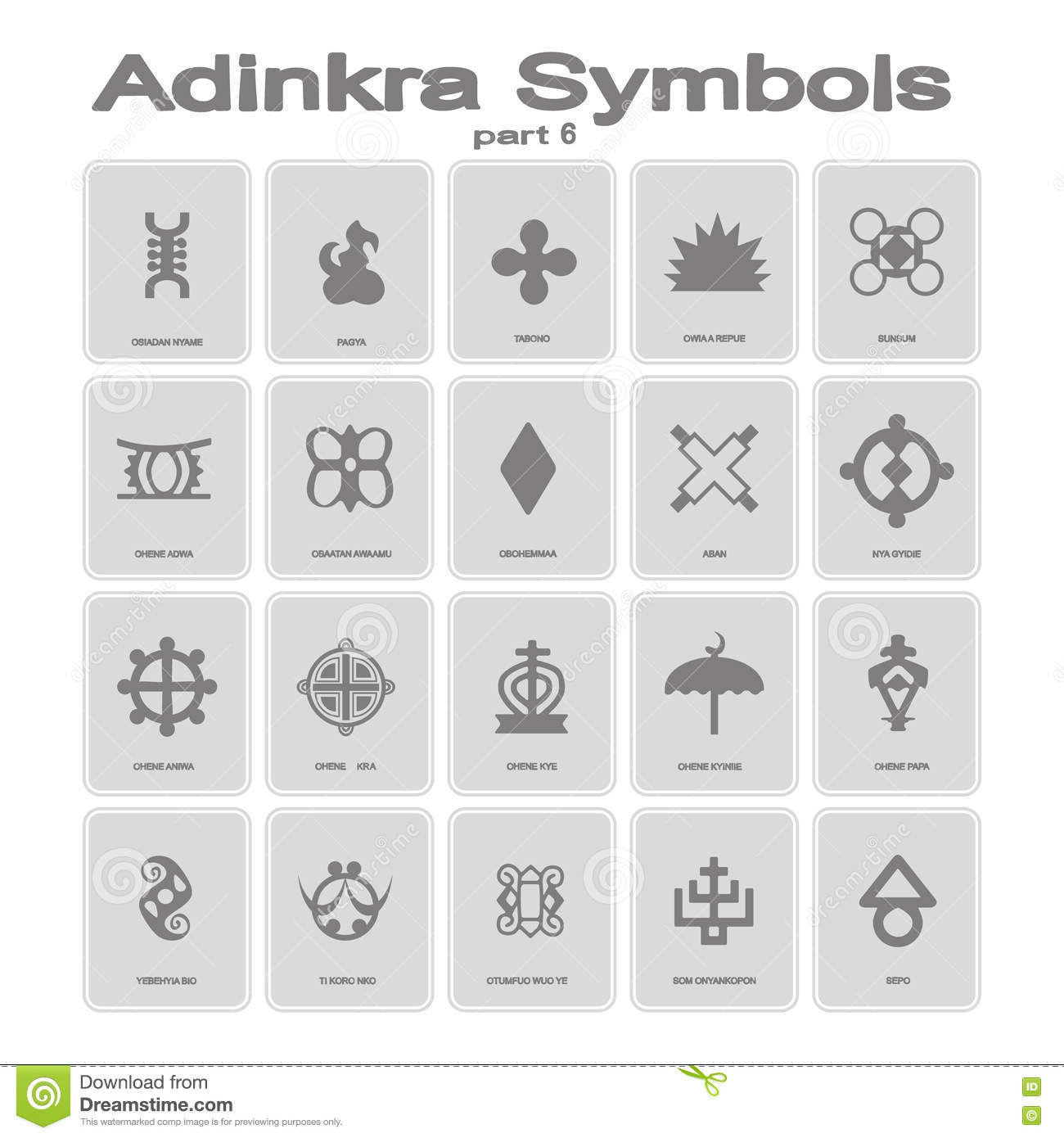 Adinkra symbols set two stock vector illustration of primitive set of monochrome icons with adinkra symbols royalty free stock photo biocorpaavc
