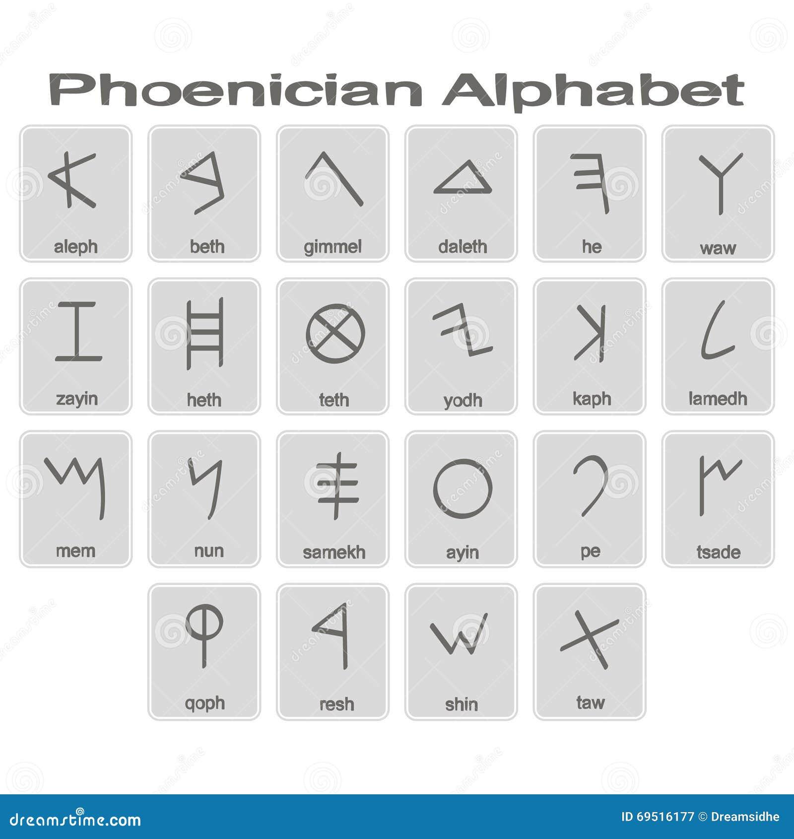 Phoenician Cartoons Illustrations Vector Stock Images