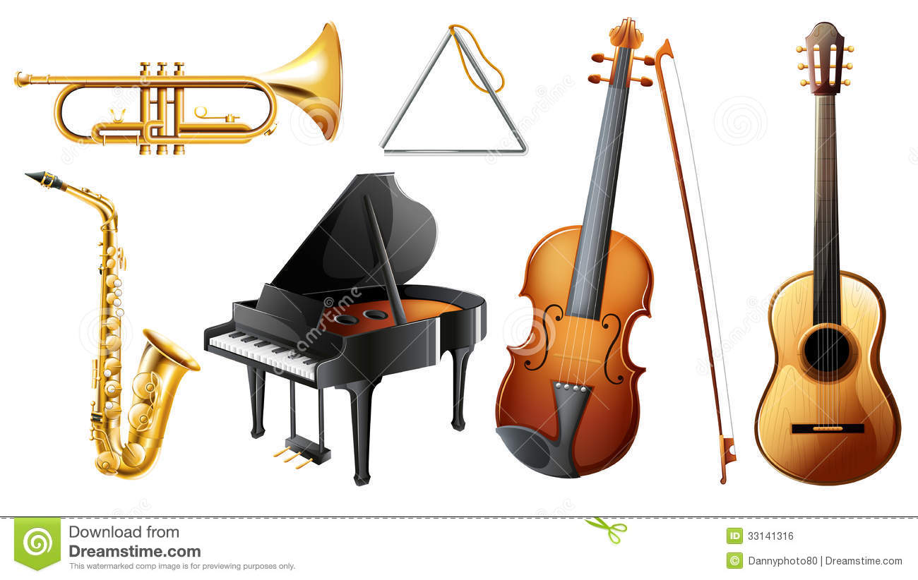 images of musical instruments   odern brass instruments include ...