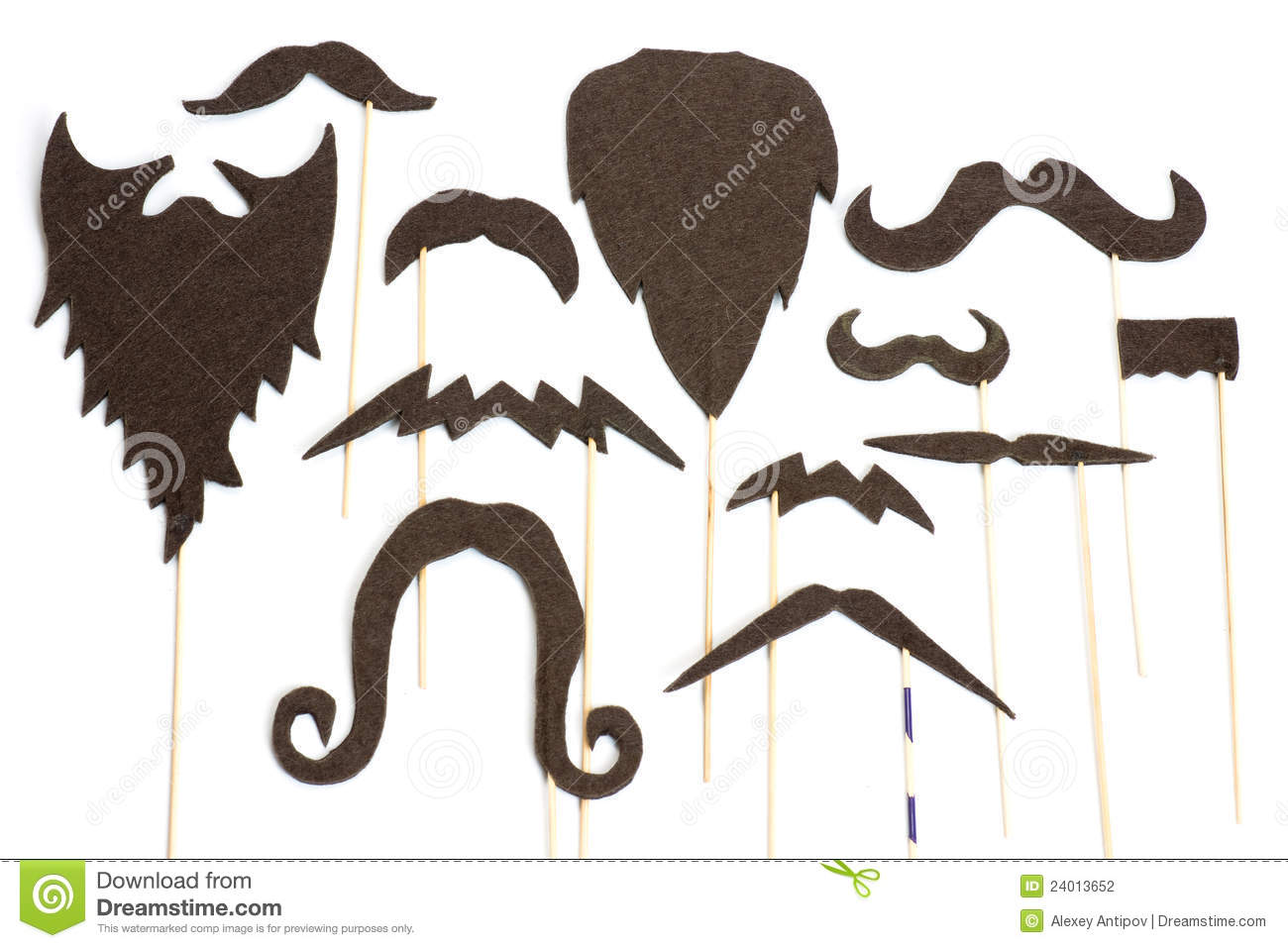 how to connect mustache to beard