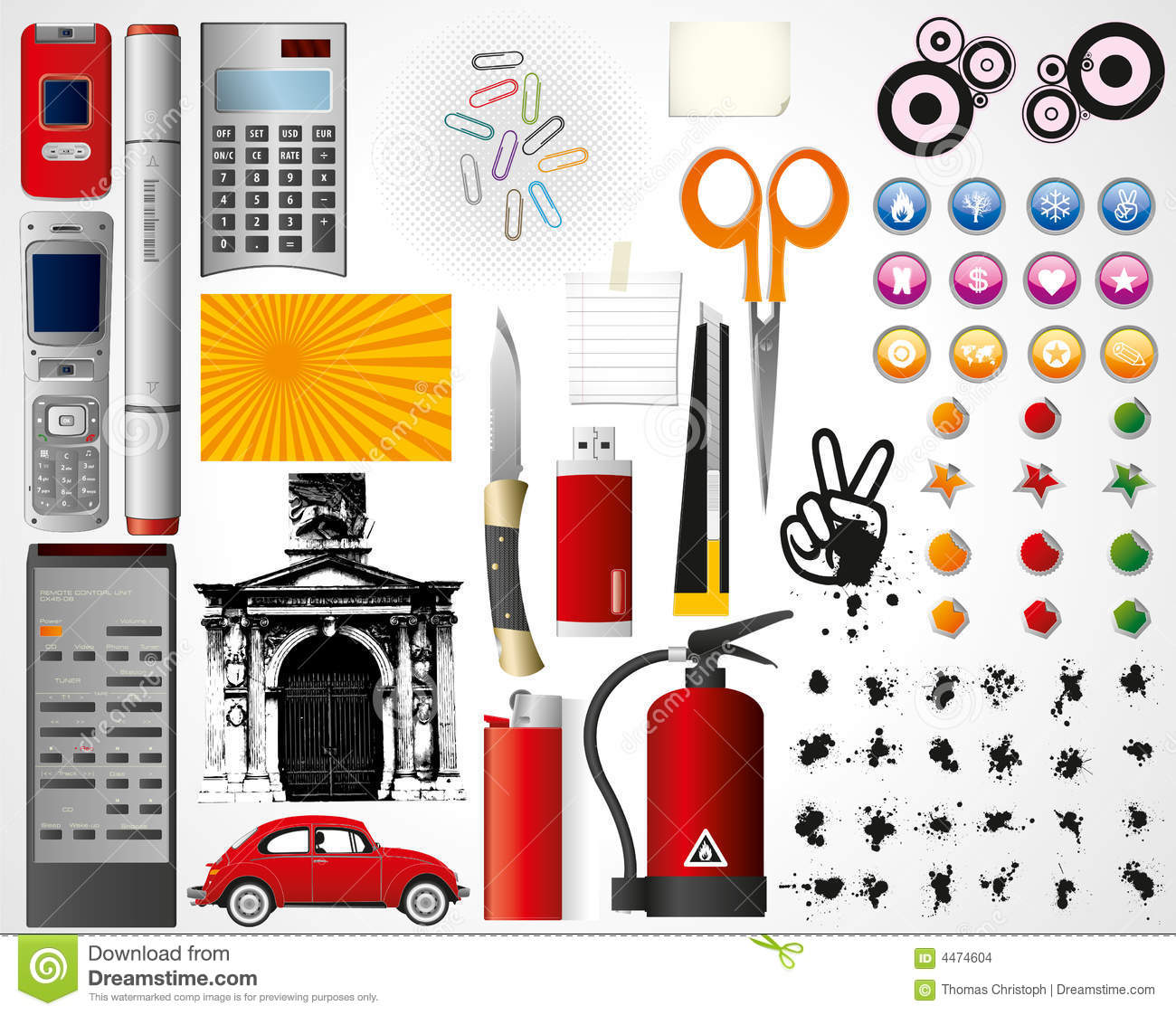 Set of objects