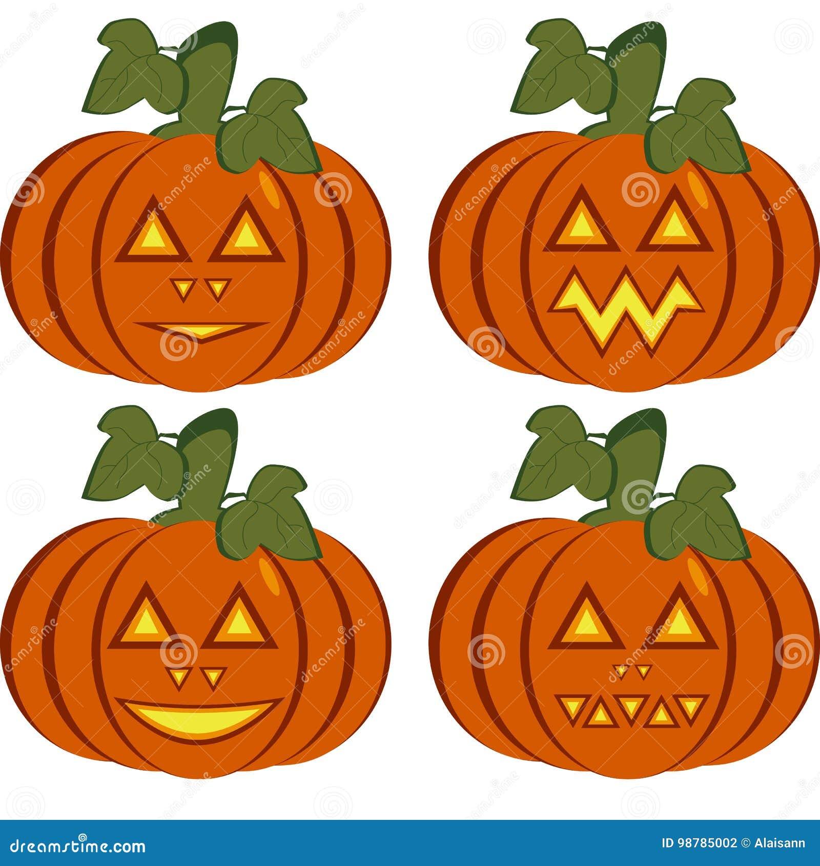 Set odosobnione ikony zmrok - pomarańczowe banie