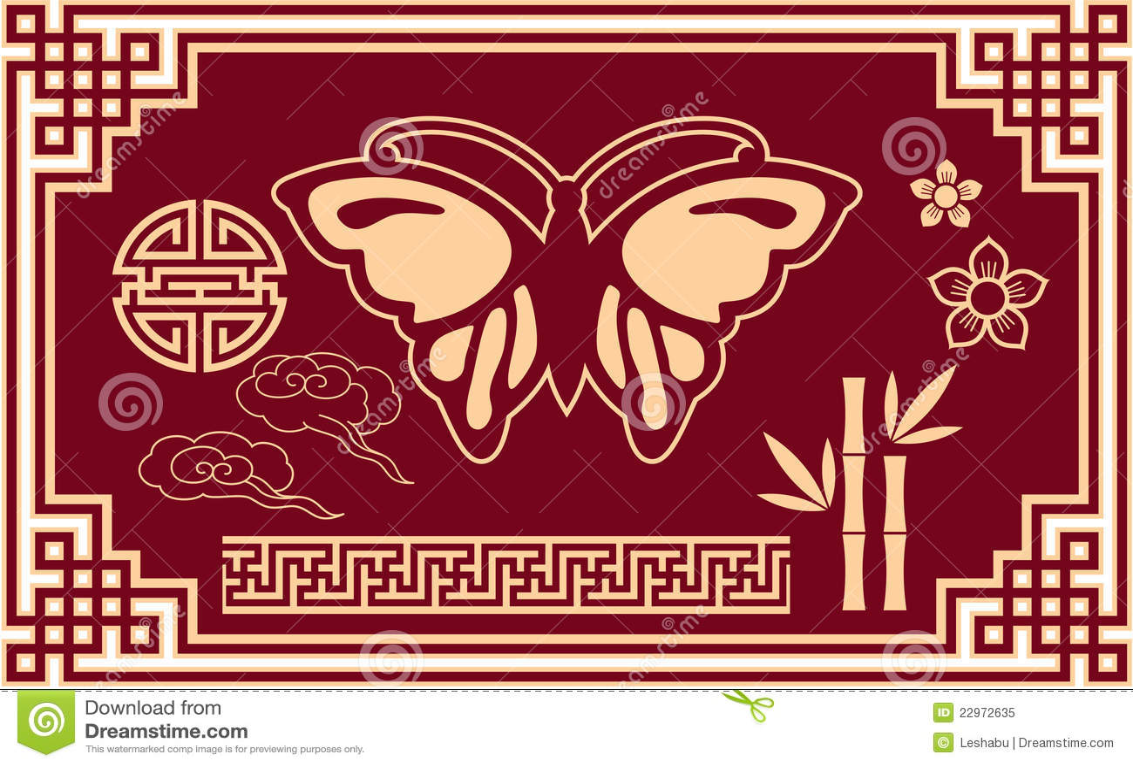 Superior Royalty Free Stock Photo. Download Set Of Oriental Design ...