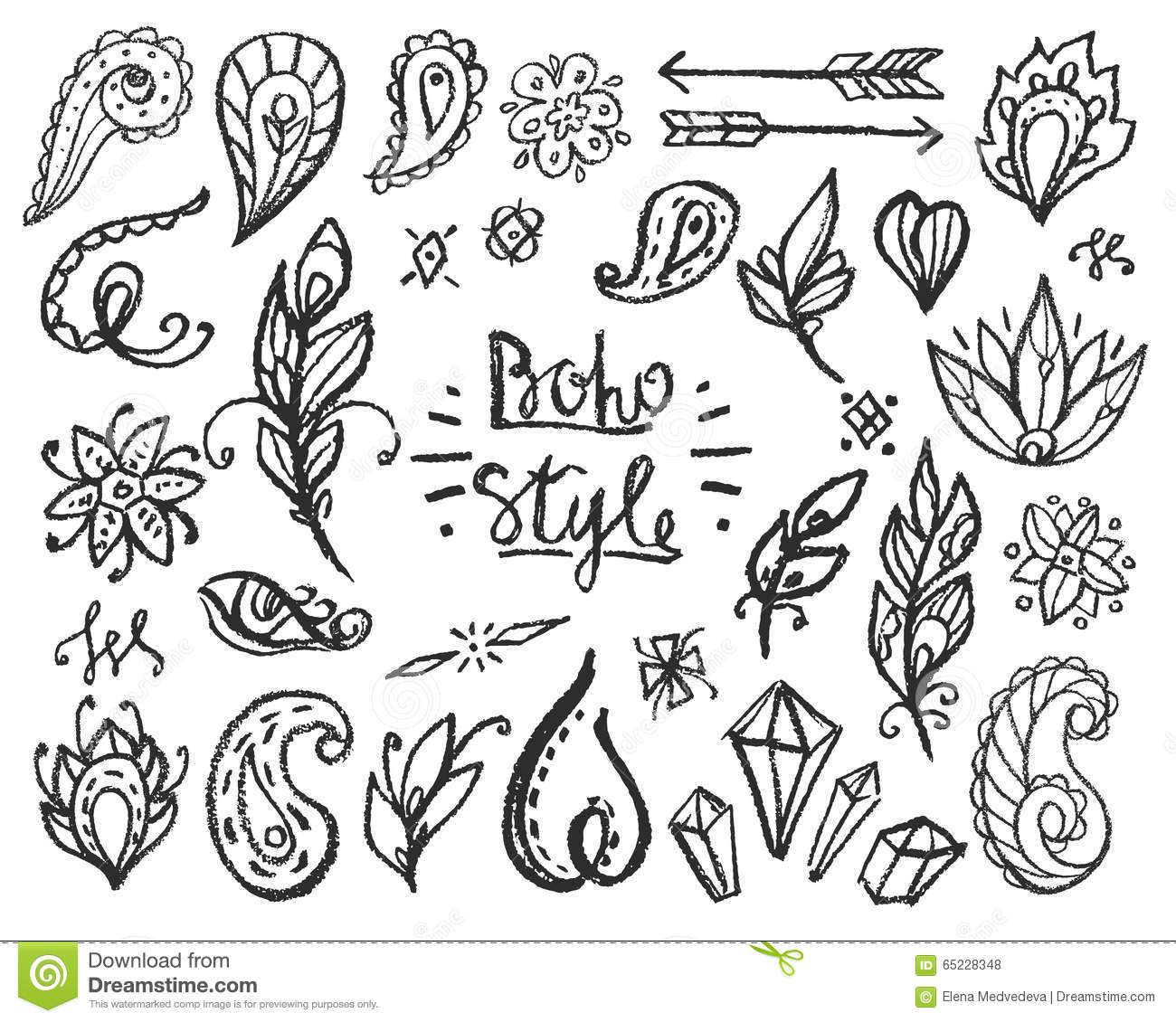 boho birds coloring pages collections