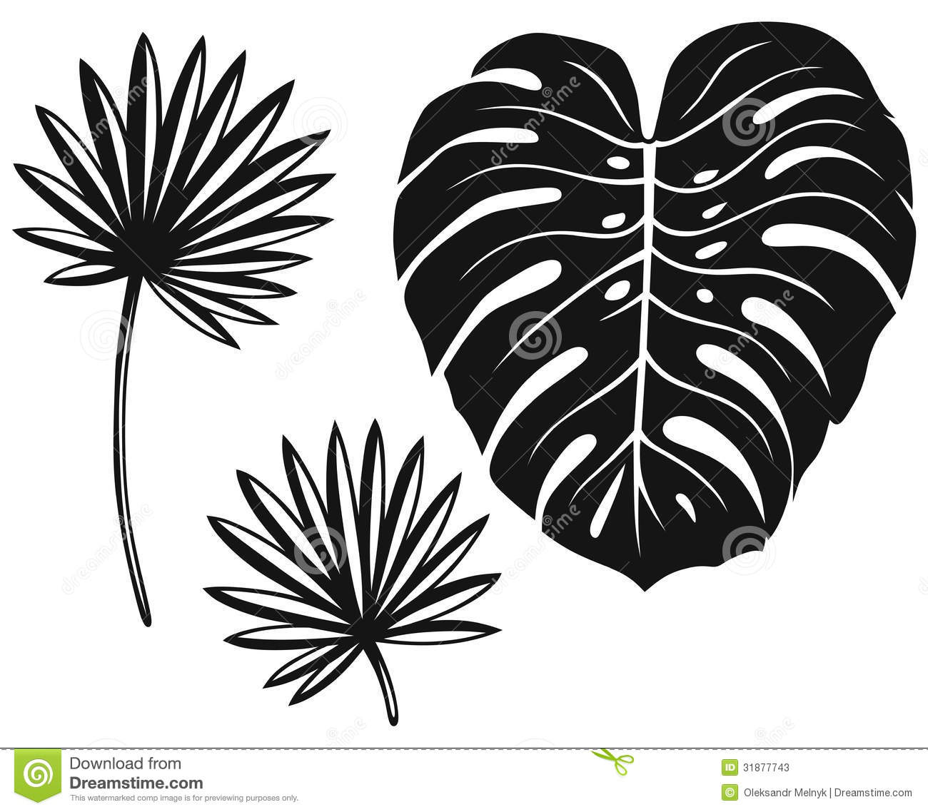 Tropical Leaf Stencils Images amp Pictures Becuo
