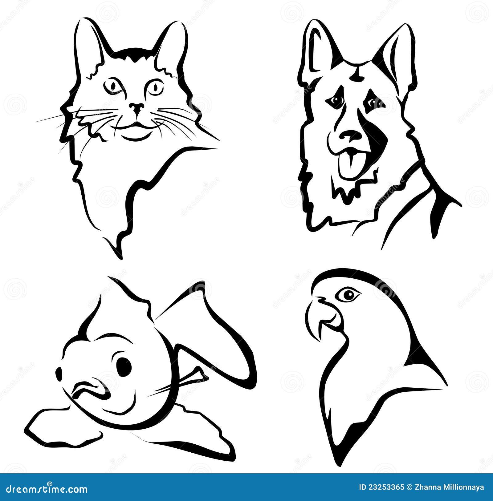 Disegni di animali domestici