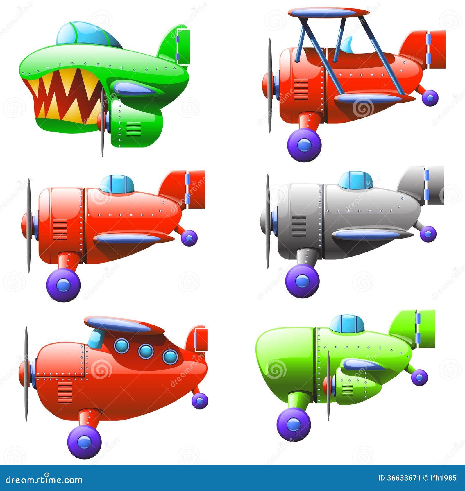 Set Planes Stock Image - Image: 36633671