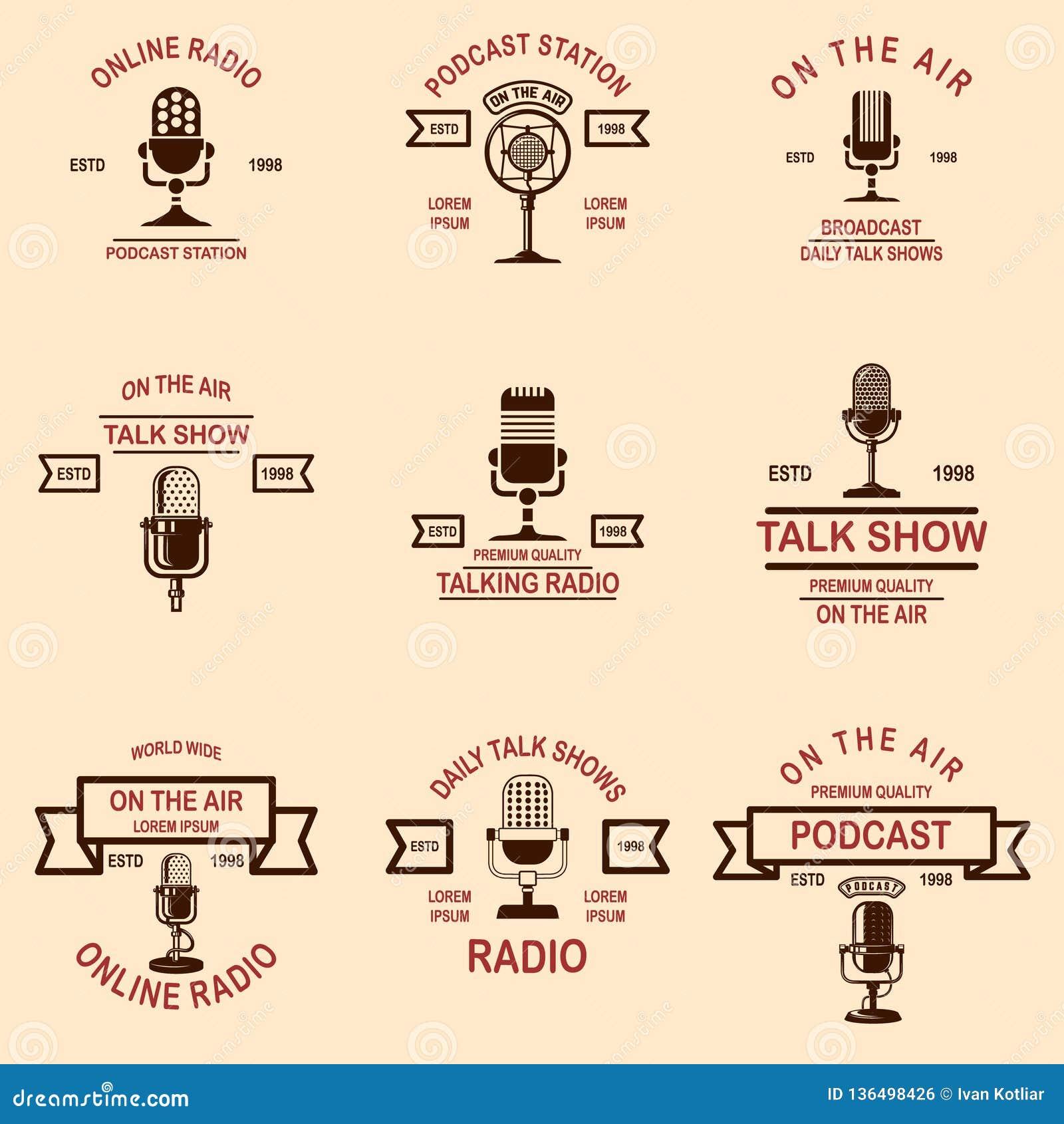 Retro Podcastlogo