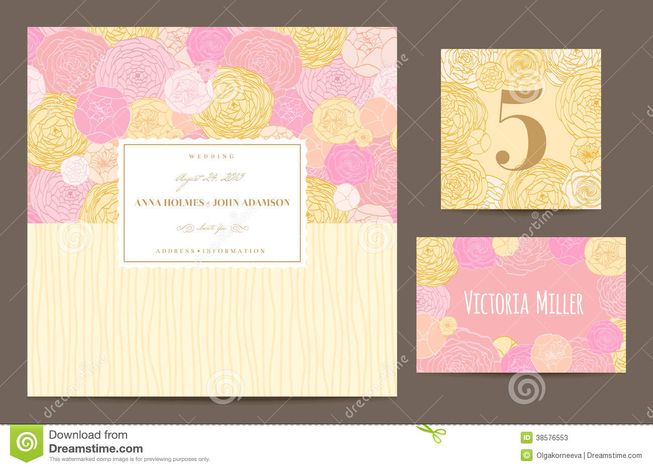 Yellow And Pink Wedding Invitations – guitarreviews.co