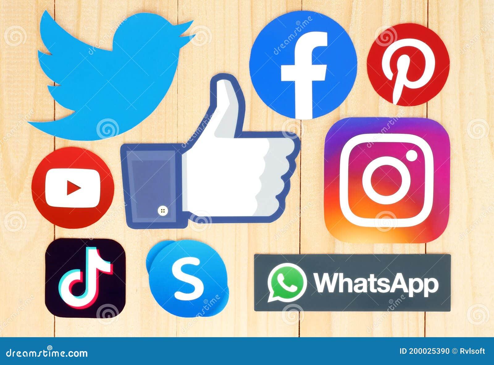 And logos social names media 1,000+ Social