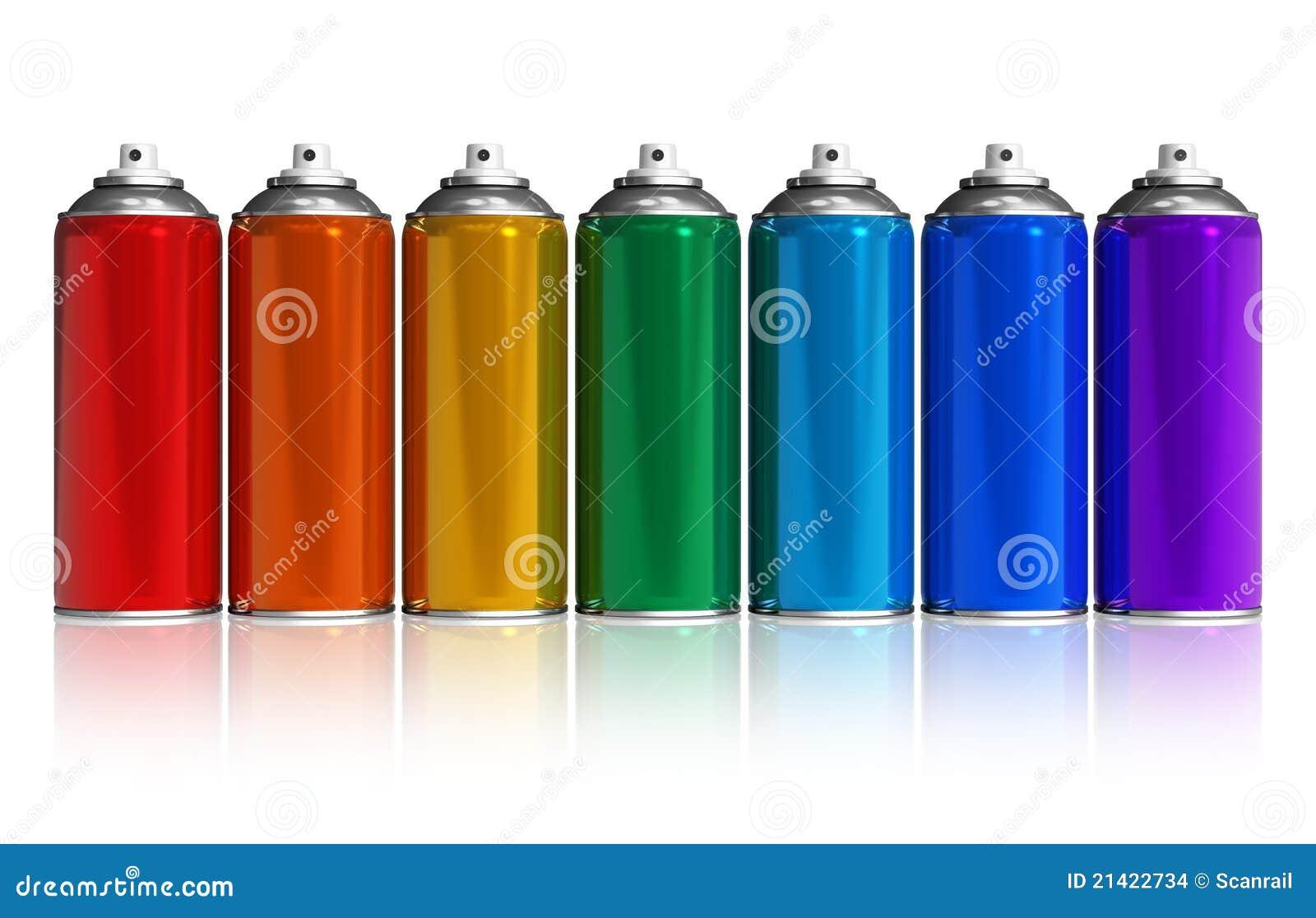 Rainbow Metal Spray Paint
