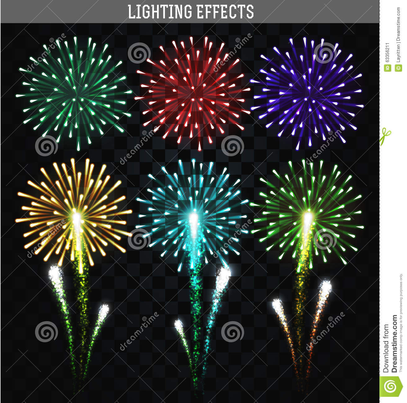 how to make color firework star