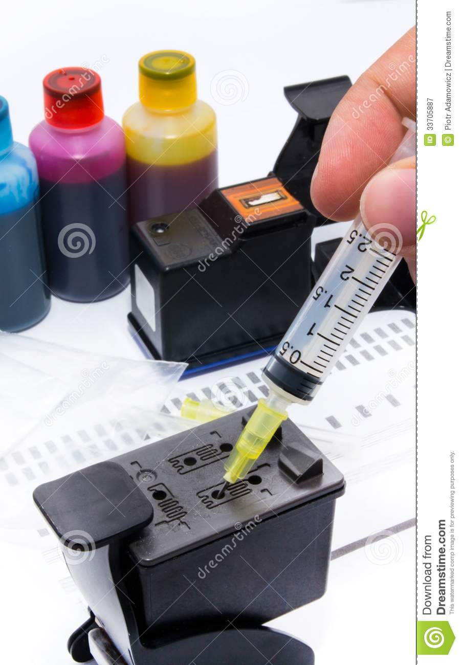 Doing the Math on Refilling Ink Cartridges