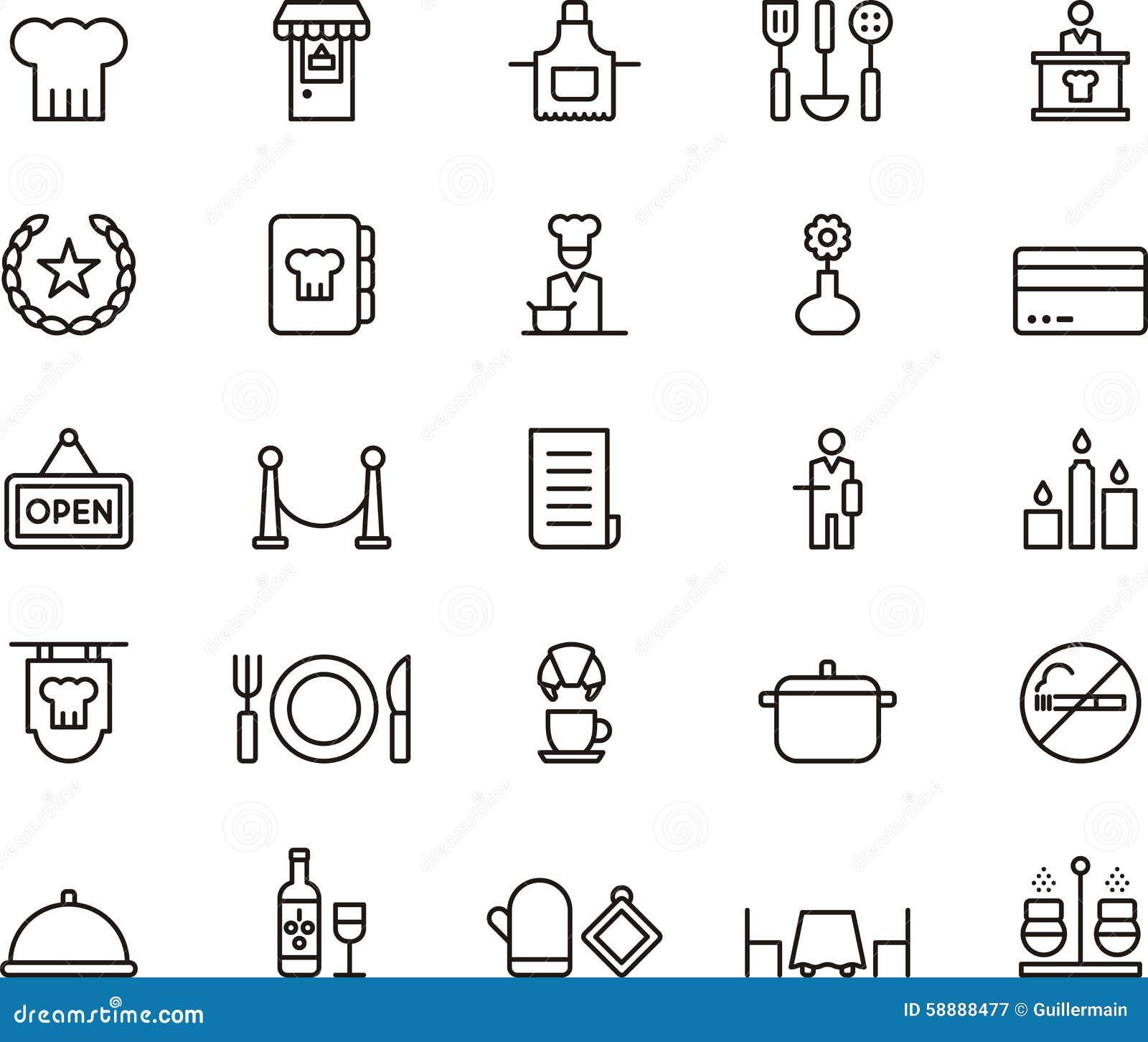 restaurant symbols clip art - photo #41