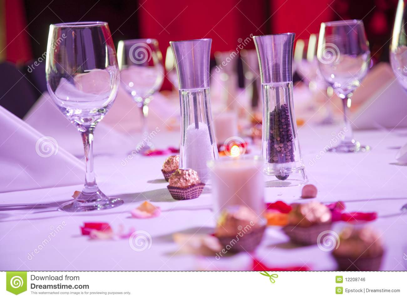 Set restaurant table for special occasion royalty free stock image image 12208746 - Tables restaurant occasion ...