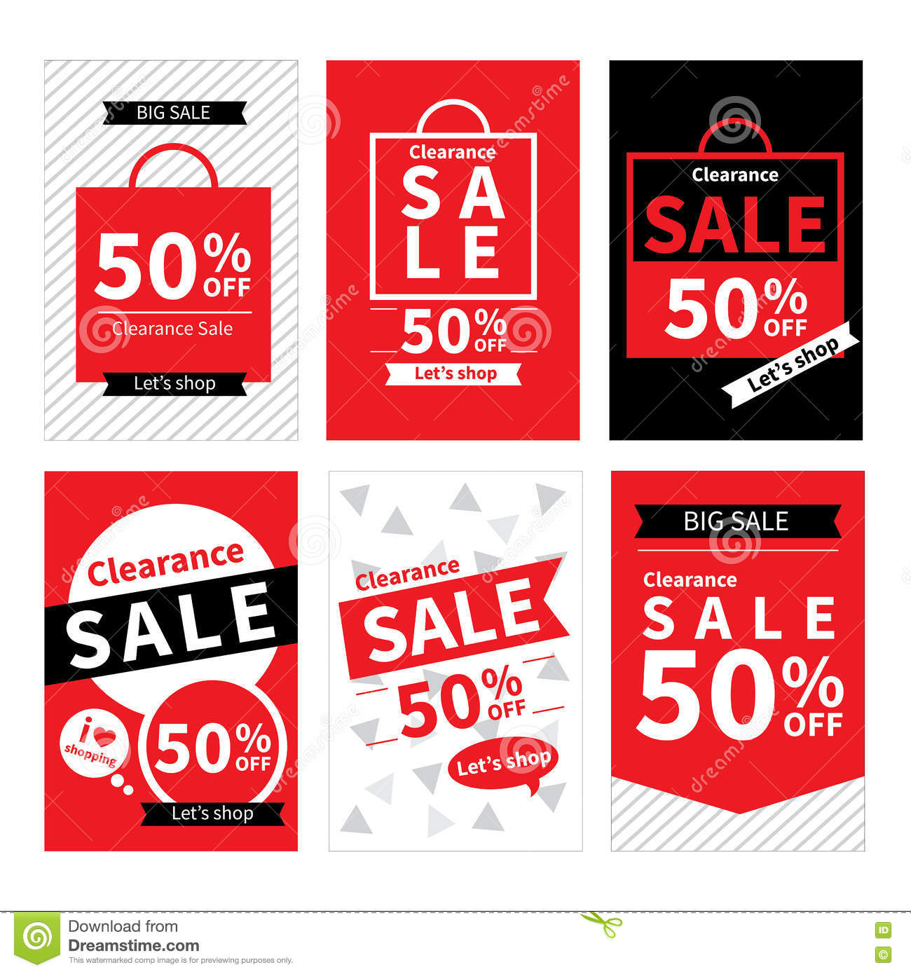 Sale Promotion Templates Royalty Free Stock Photos - Image: 35036628