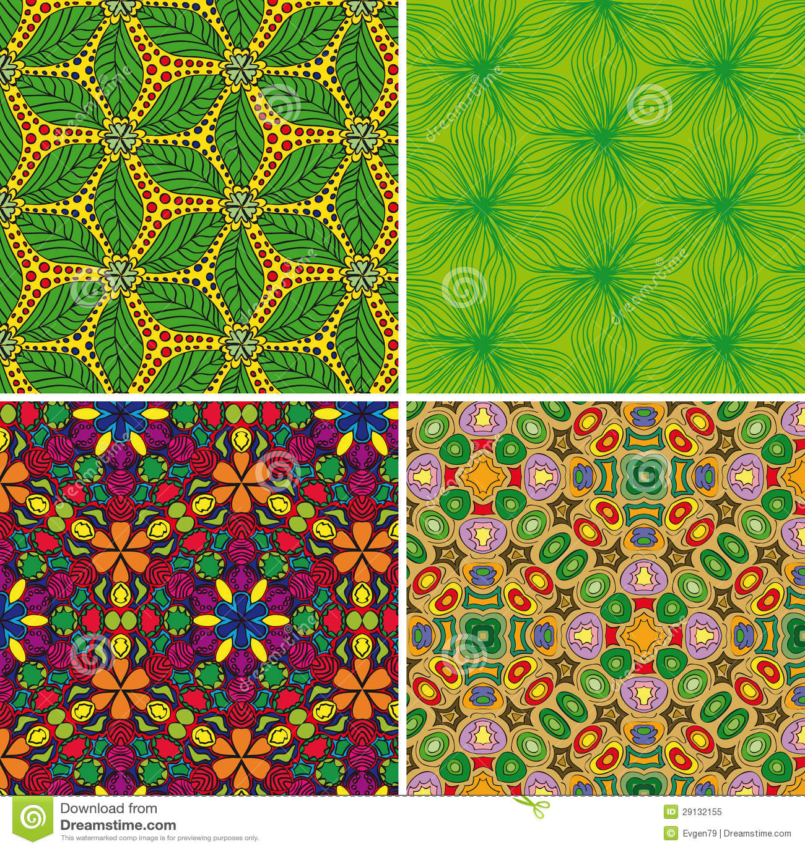 Set of seamless patterns 3