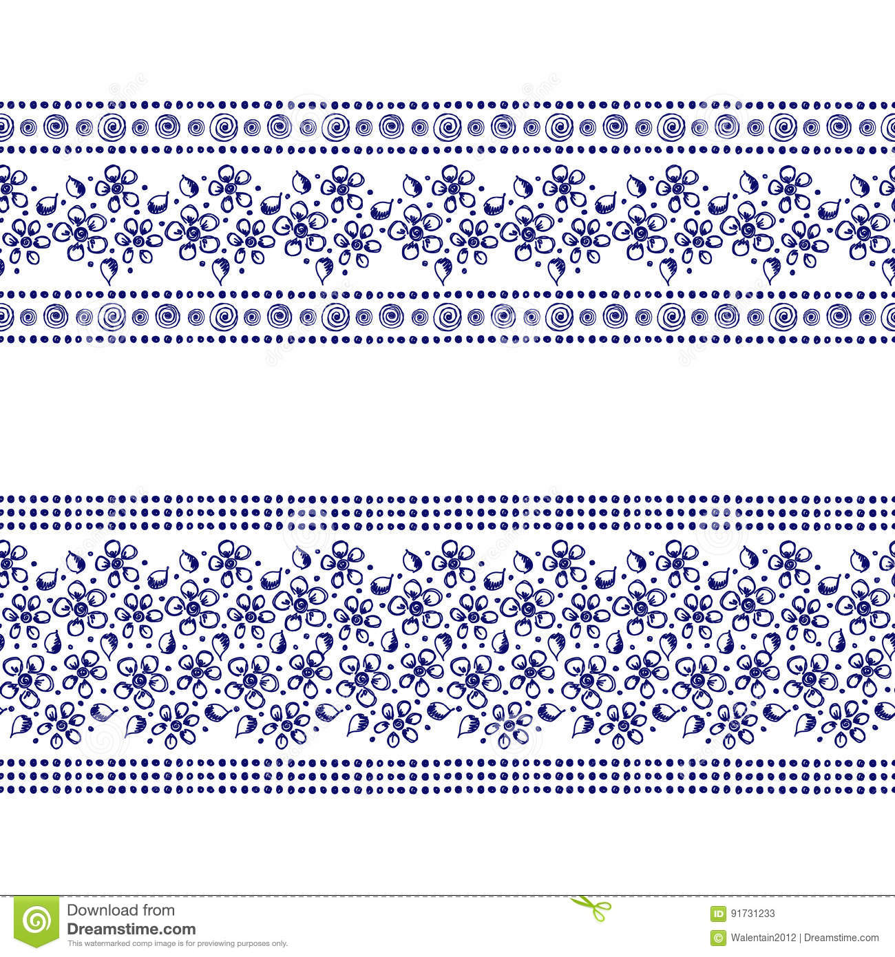 Drawing Lines With Core Graphics : Uncolored flowers cartoons illustrations vector stock