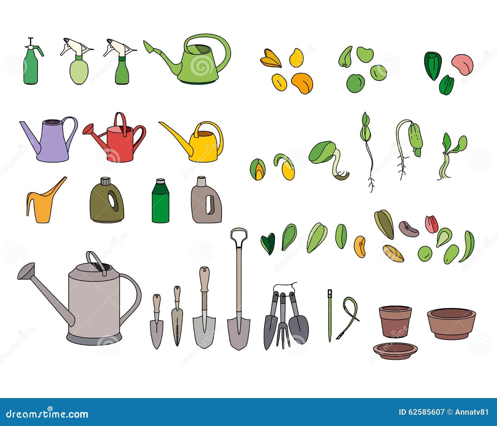 Garden tools and equipments for Garden implements list
