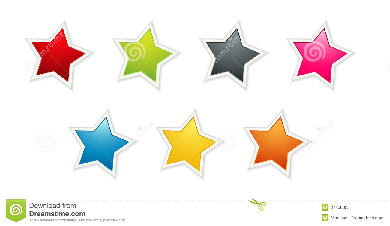 the set of seven color stars royalty free stock photo spring clip art images spring clip art images