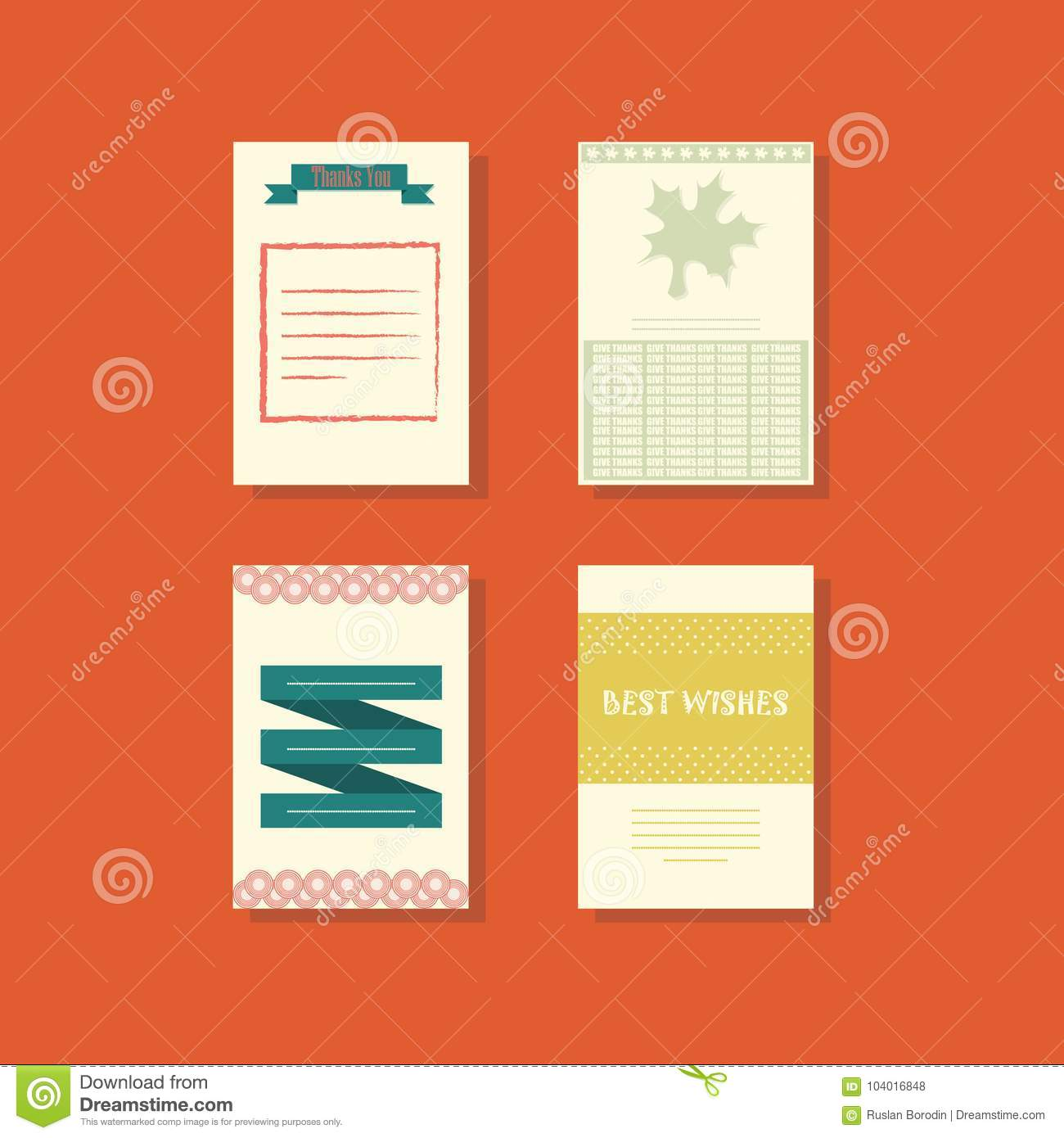 Several greeting cards with different designs the concept of a several greeting cards with different designs the concept of a holiday vector illustration m4hsunfo