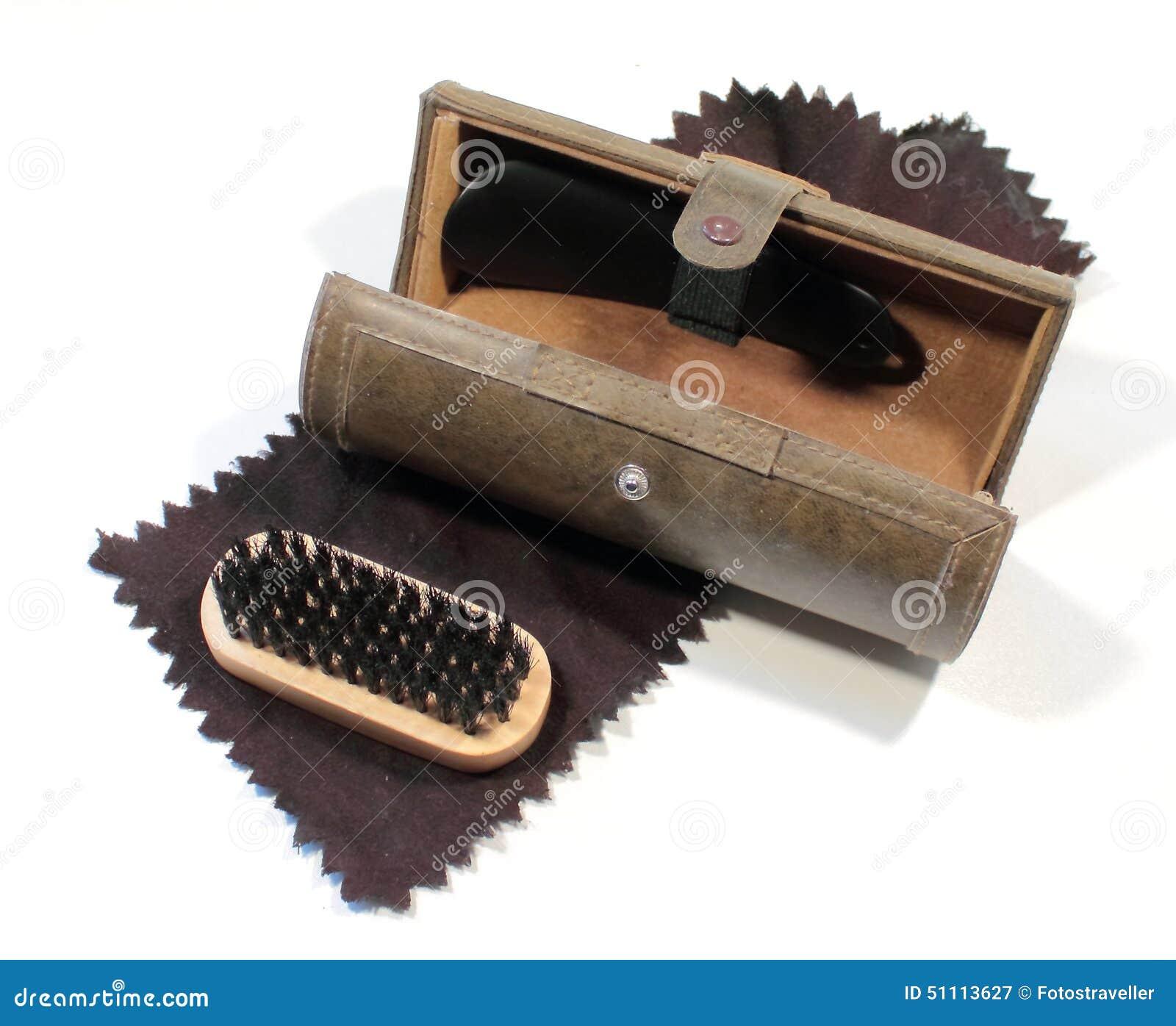 Antique Shoe Shine Box Royalty-Free Stock Photography ...