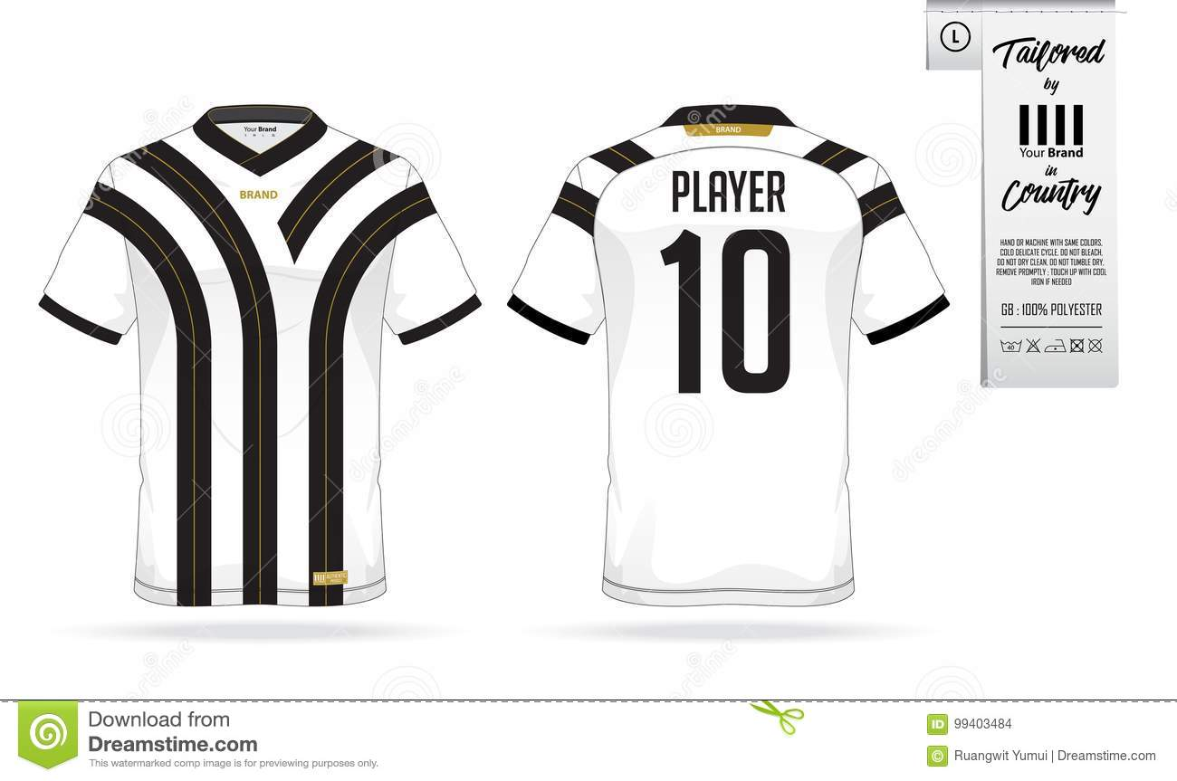 Soccer jersey or football kit template for football club. Football shirt  mock up. 53db038d4