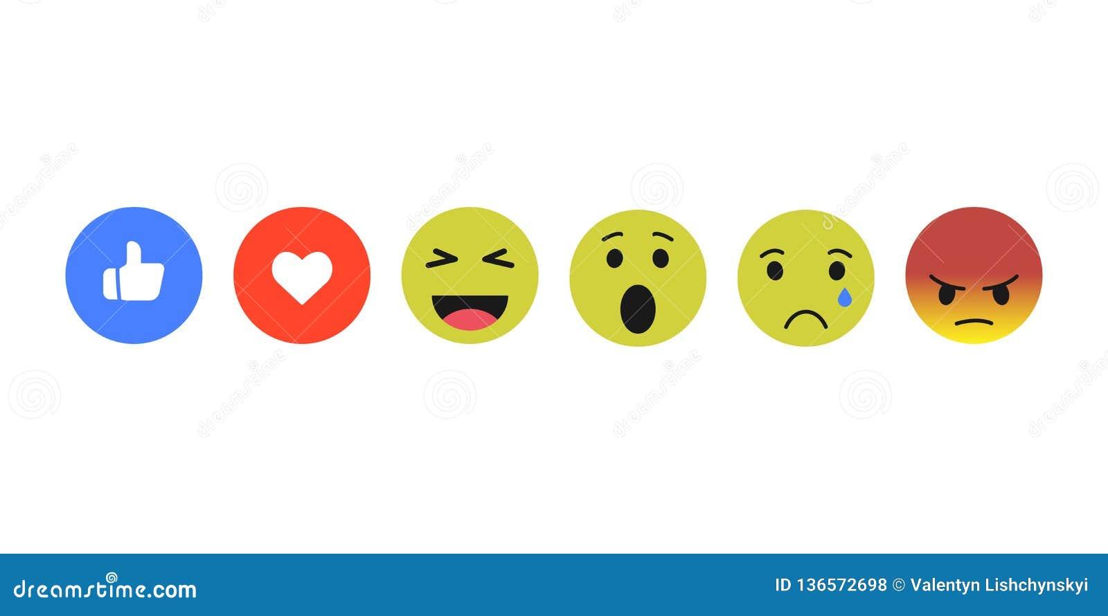 set smiley icon. vector set icons flat design EPS10