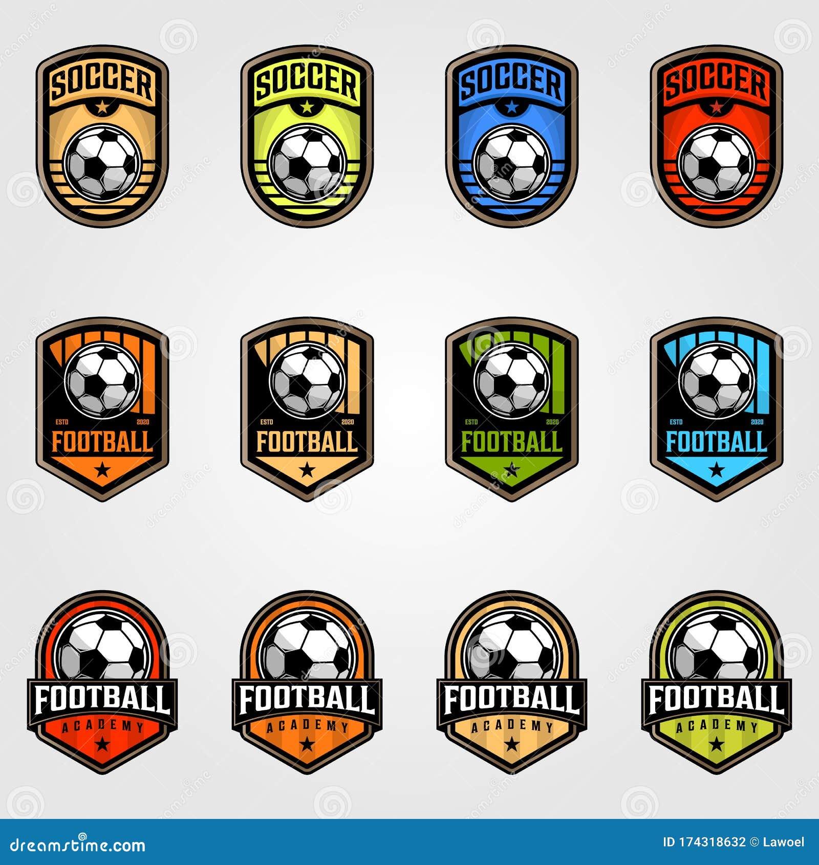 futsal logo stock illustrations 61 futsal logo stock illustrations vectors clipart dreamstime https www dreamstime com set soccer ball emblem football logo vector illustration image174318632