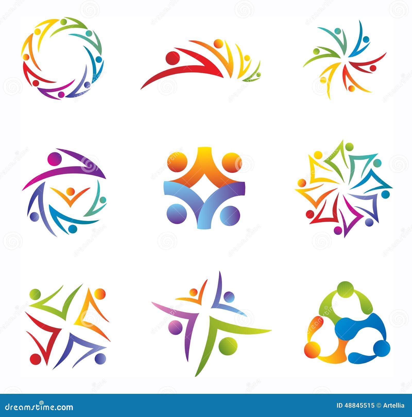 Set społeczność, ludzie/Ogólnospołeczne sieci ikony