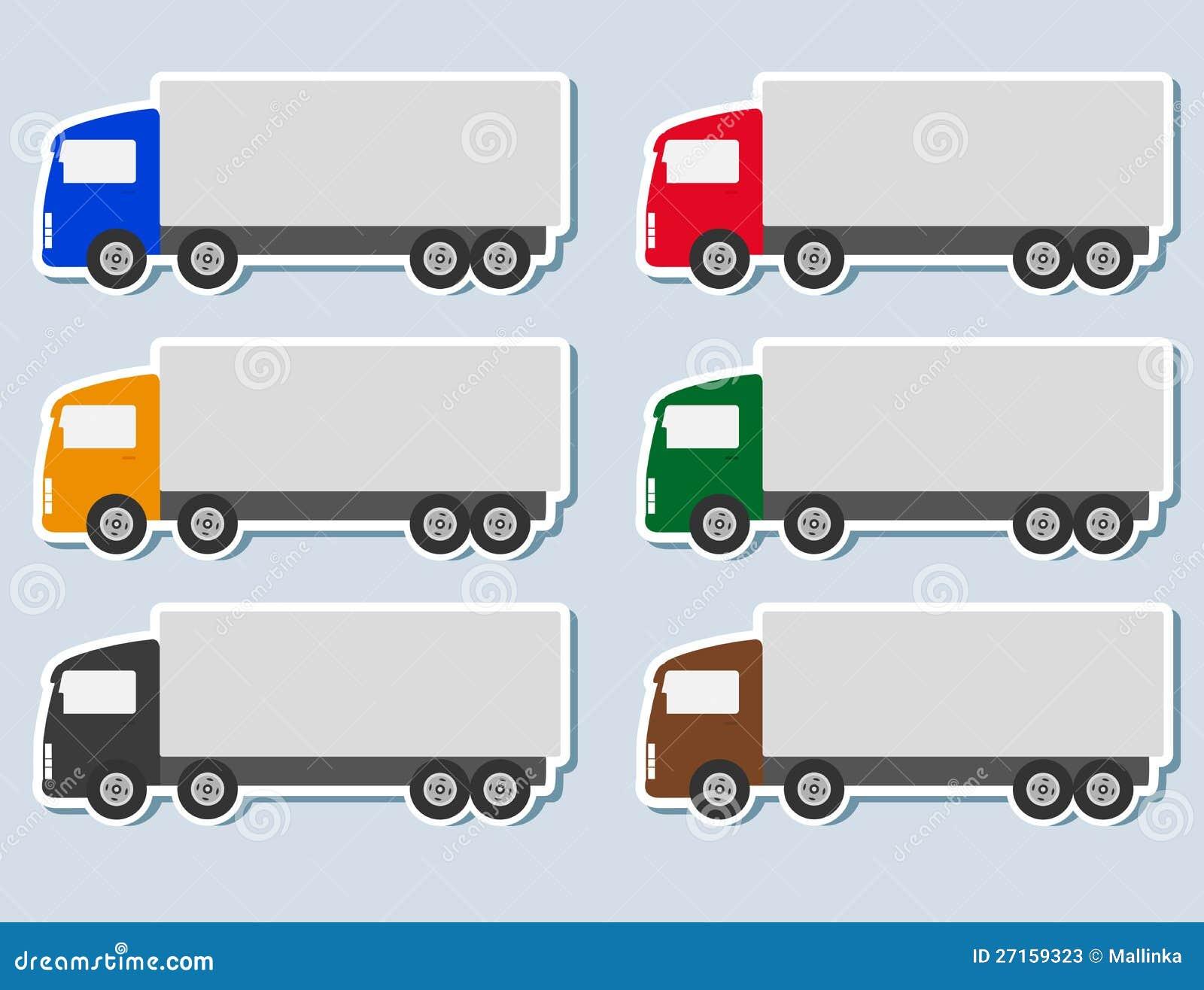 Semi Truck Silhouette Semi Truck Silhoue