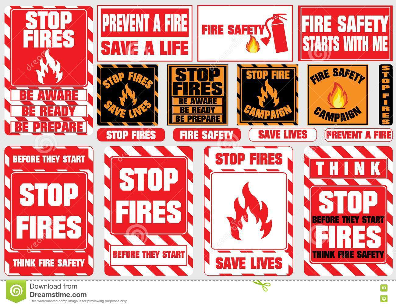 How can you prevent a fire or quickly deal with it 30