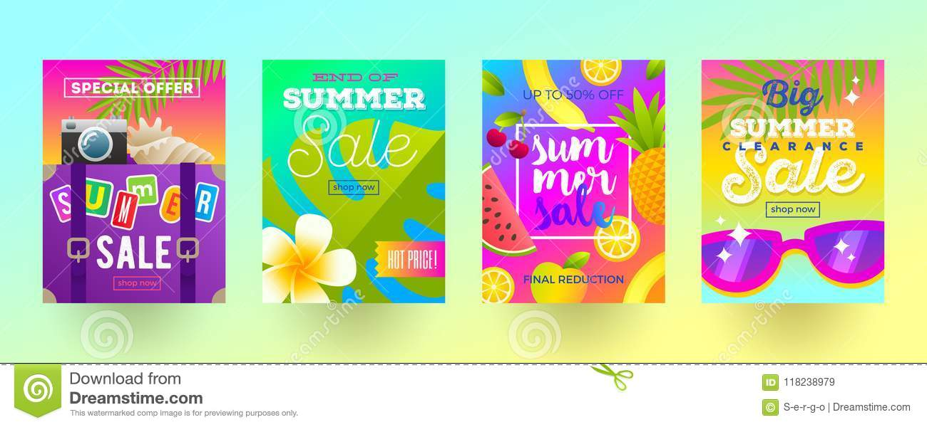 Travel Promotion Banners Elegant Ribbon Banners