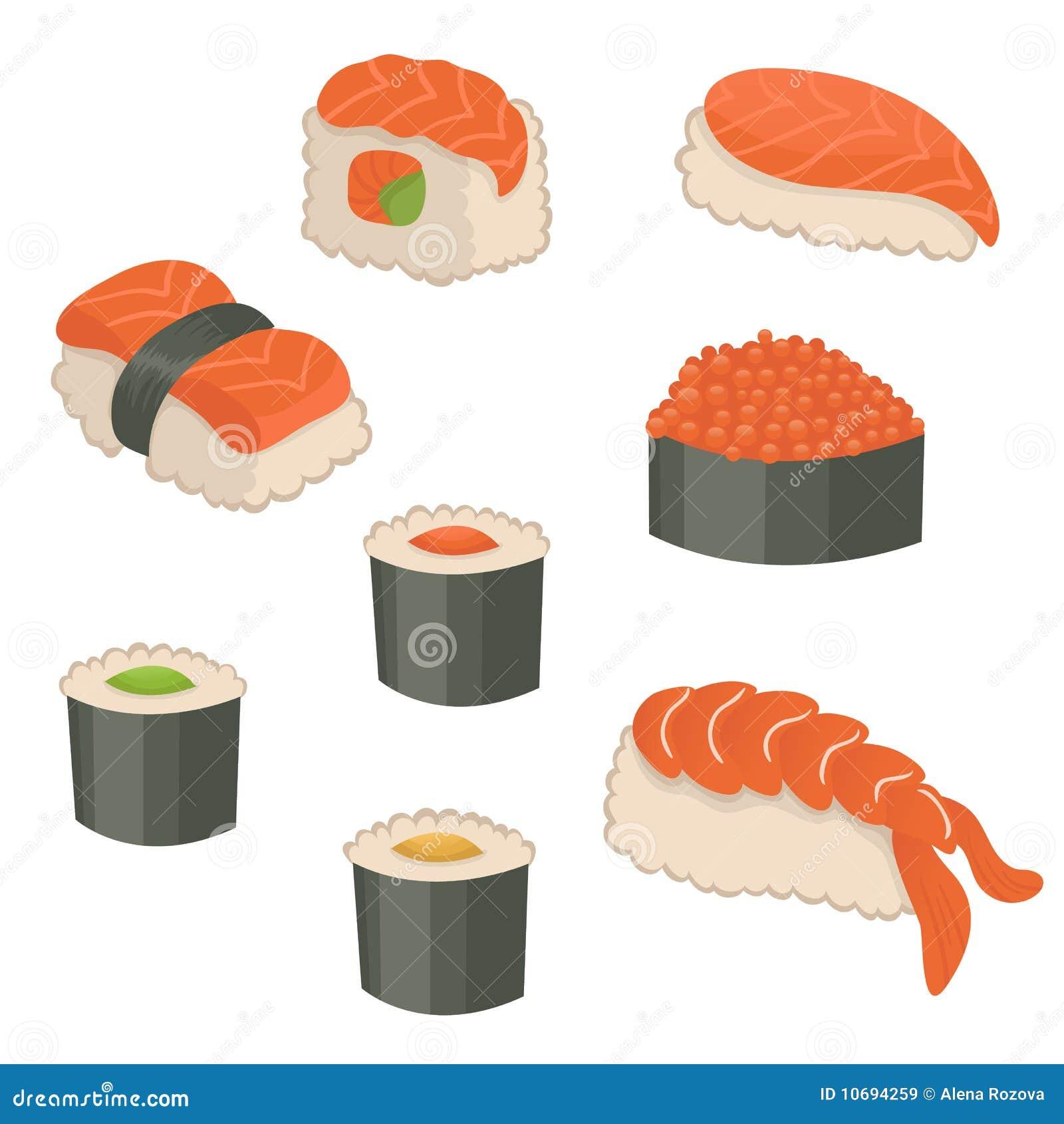 Caviar Sushi Roll