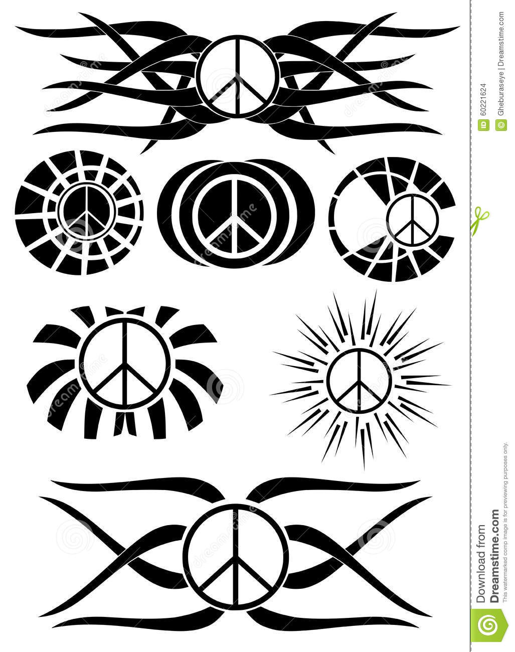 Tattoo Art Coloring Book Ink Designs For Inner Peace Sign Of Galleryhip The