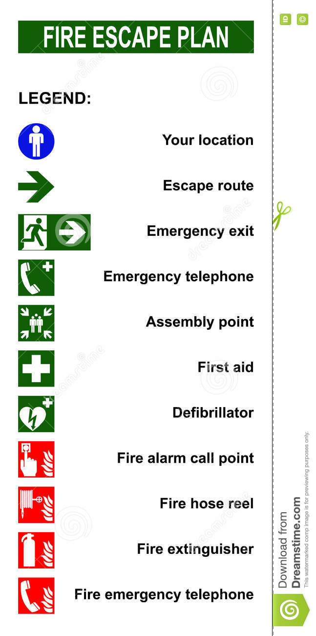 how to draw up an emergency evacuation plan