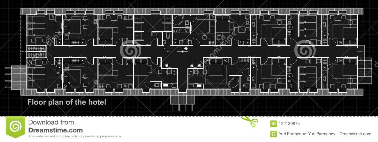 A set of thin line vector icons for interior planning with - Design a room floor plan ...