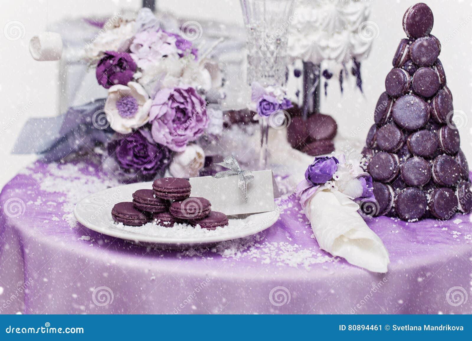 Set Of Three Wedding Croquembouche Cakes Stock Image Image Of Bridal Macaron 80894461