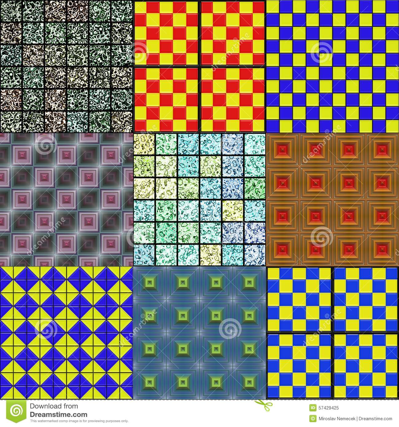 generated seamless tile background - photo #43