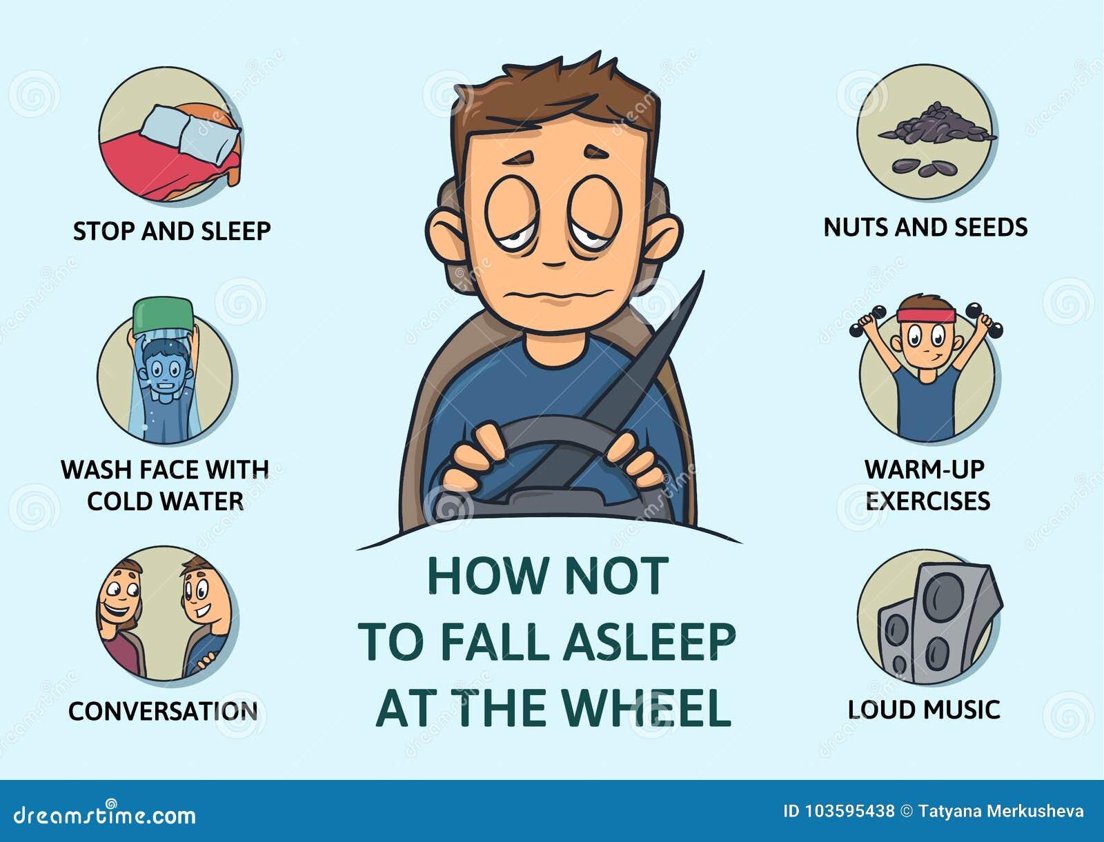 tips to stay awake