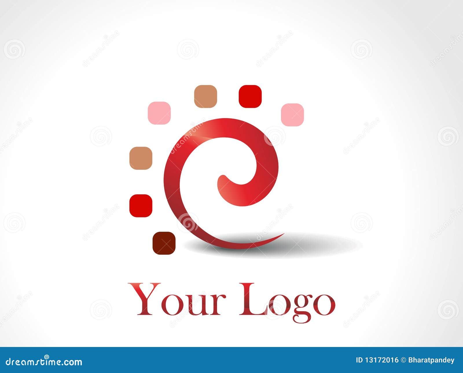 A set of unique logo design royalty free stock image for Design lago